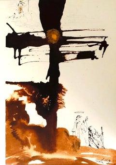 Veni, Domine Iesu - Original Lithograph by Salvador Dalì - 1964