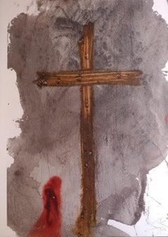 Vere, hic homo iustus erat - Original Lithograph by S. Dalì - 1964