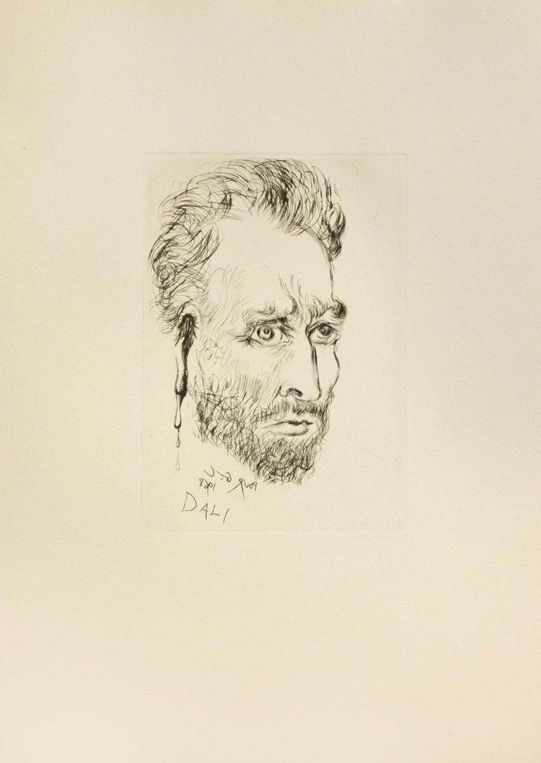 Salvador Dalí Portrait Print - Vincent Van Gogh
