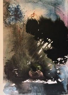 "Vir et Mulier in paradiso voluptatis - From ""Biblia Sacra"" - 1960s - Surrealism"