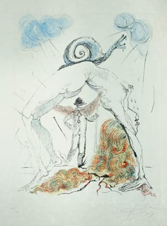 Woman with Snail