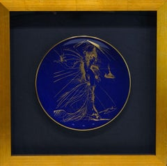 Women with Whip (Venus in Furs) Plate