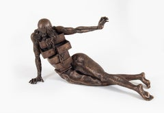 Le cabinet anthropomorphique, Salvador Dali, Bronze, 1980's, drawers, sculpture
