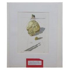 Salvador Dali Supplice des Hypocrites Divine Comedy Woodcut Engraving Inferno 23