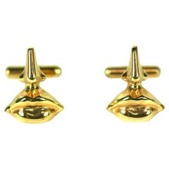 Salvador Dali Surrealist Cufflinks