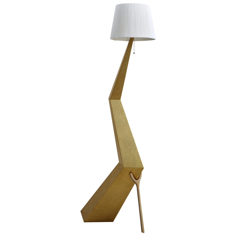 Salvador Dali Surrealist Fine Gold Leaf Bracelli Lamp Sculpture for BD Barcelona