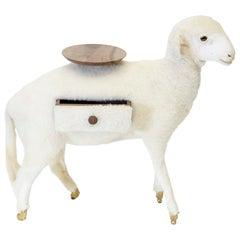Salvador Dali Surrealist Sculpture Side Table Model Xai Limited Edition