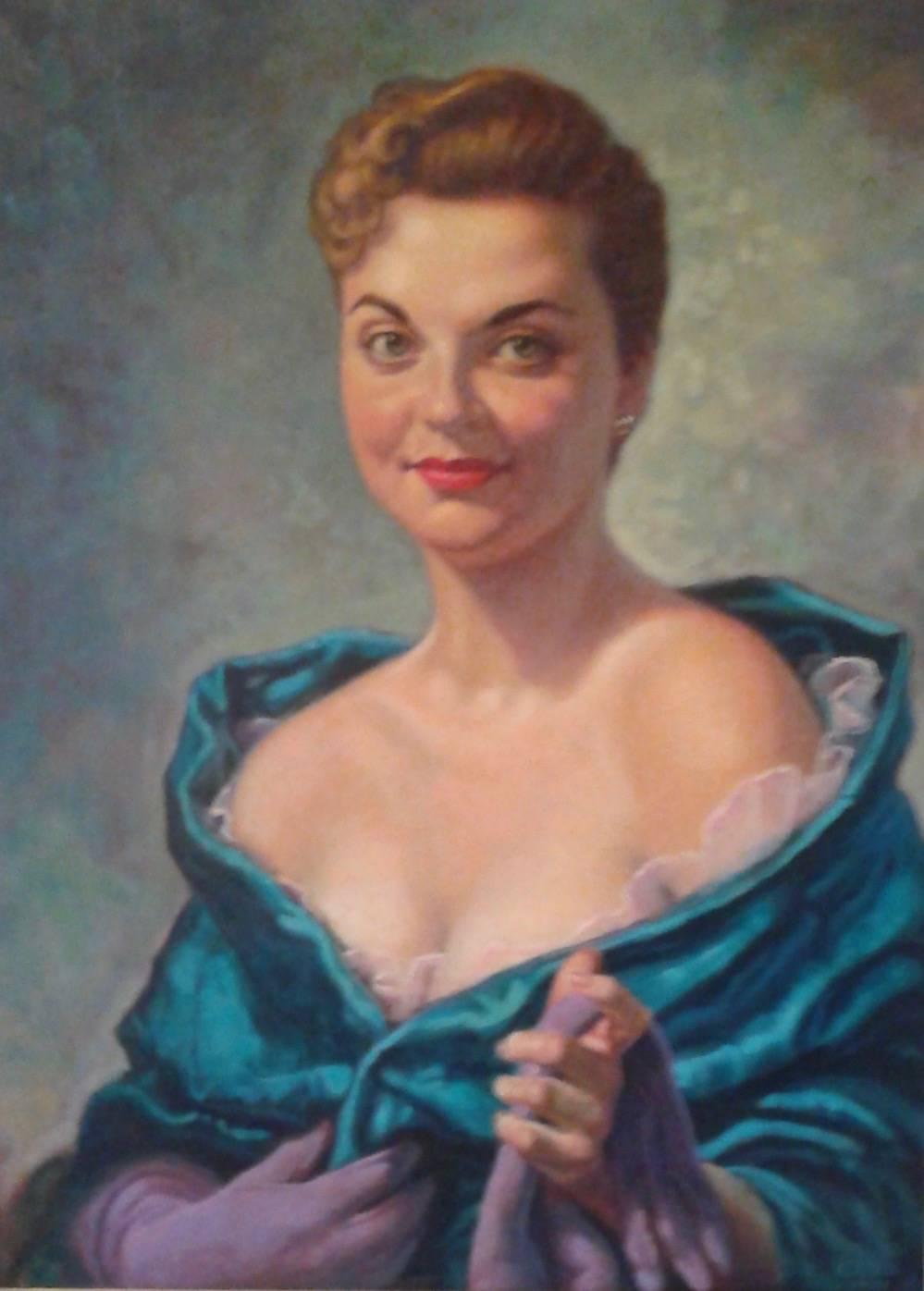 Portrait of Marian Virginia Schuster