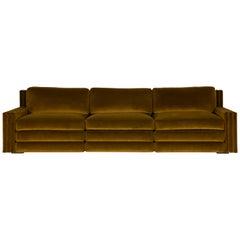 Salvadore Large Sofa Pierre Frey Fabric Designed by Laura Gonzalez