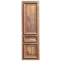 Salvaged French Oak Panel / Cupboard Door, 20th Century
