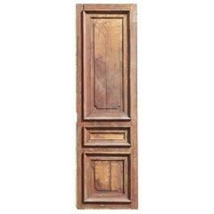 Salvaged French Oak Panel / Cupboard Door, 20th Century