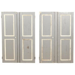 Salvaged Shutters or Cupboard Doors, 20th Century