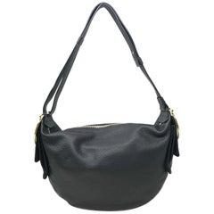 Salvatore Ferragamo 647216 21F870 Black Leather Hobo Women's Bag