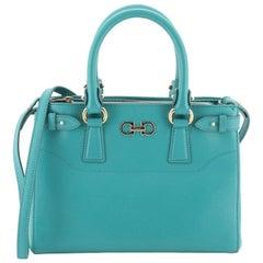 Salvatore Ferragamo Beky Handbag Saffiano Leather Small