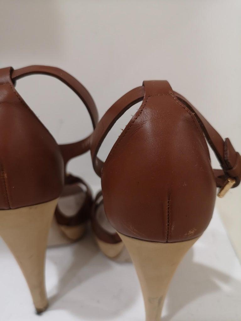 Salvatore Ferragamo  brown sandals For Sale 7