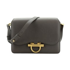 Salvatore Ferragamo Classic Flap Bag Leather Small