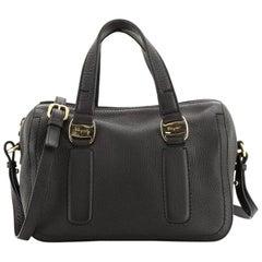 Salvatore Ferragamo Convertible Boston Bag Leather Small