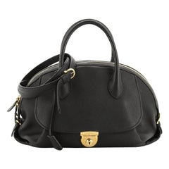 Salvatore Ferragamo Fiamma Satchel Leather Large