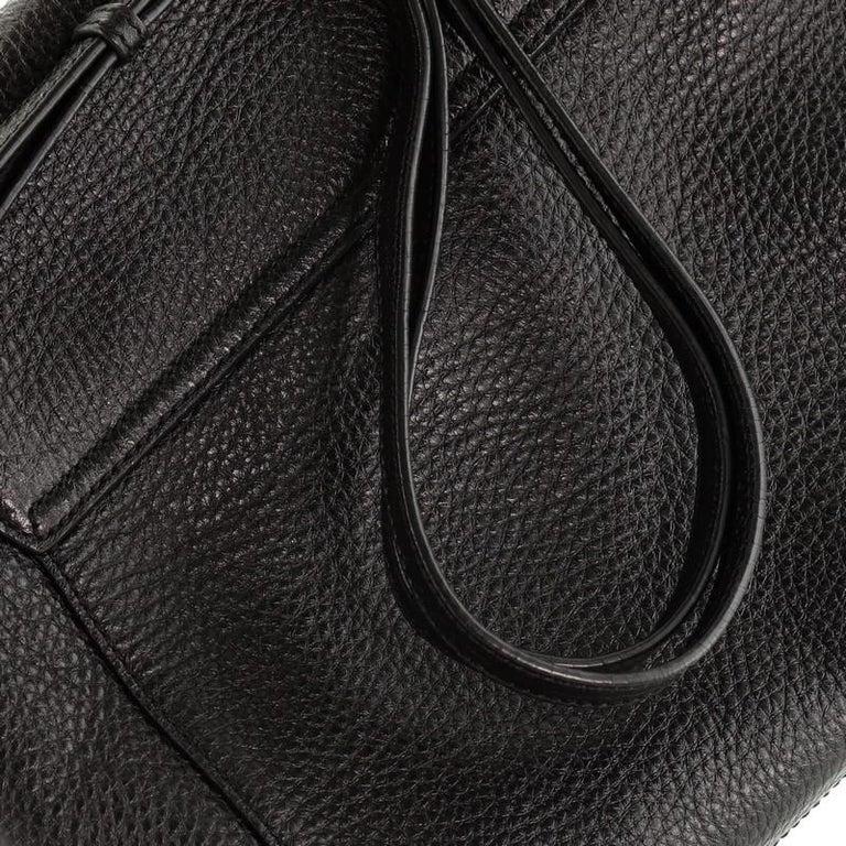 Salvatore Ferragamo Gancio Flap Shoulder Bag Leather Medium 2