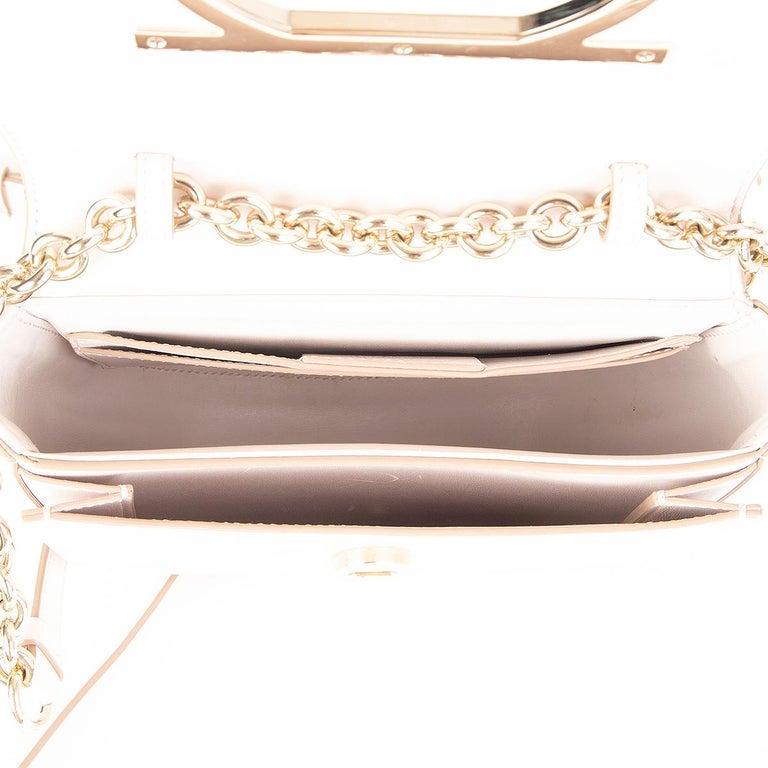SALVATORE FERRAGAMO pink leather VELA Shoulder Bag For Sale 1