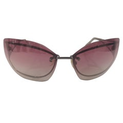 Salvatore Ferragamo pink sunglasses NWOT