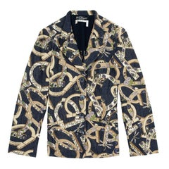 Salvatore Ferragamo Printed Jacket M