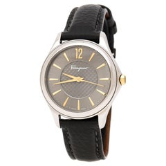 Salvatore Ferragamo Silver Grey Stainless FFV010016 Women's Wristwatch 33 mm