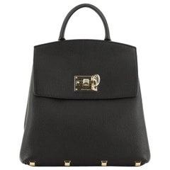 Salvatore Ferragamo Studio Backpack Leather