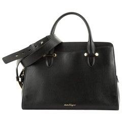Salvatore Ferragamo Today Satchel Leather Large