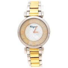 Salvatore Ferragamo Two-Tone Gancino FG3060014 Women's Wristwatch 39 mm
