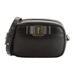 Salvatore Ferragamo Vara Bow Camera Bag Leather