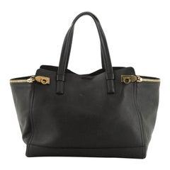 Salvatore Ferragamo Verve Tote Leather Large
