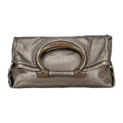 Salvatore Ferragamo Woman Handbag  Bronze Leather