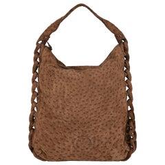 Salvatore Ferragamo Woman Handbag Brown Leather