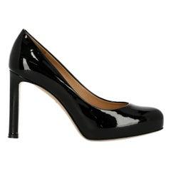 Salvatore Ferragamo Woman Pumps Black Leather US 4.5