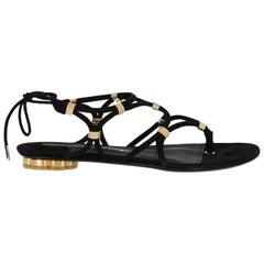 Salvatore Ferragamo Woman Sandals Black EU 36