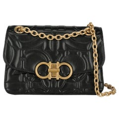 Salvatore Ferragamo Woman Shoulder bag  Black Leather