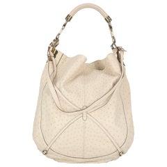 Salvatore Ferragamo Woman Shoulder bag Ecru Leather