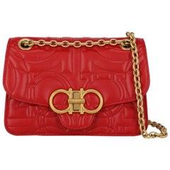 Salvatore Ferragamo Woman Shoulder bag  Red Leather