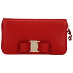 Salvatore Ferragamo Woman Wallet Red