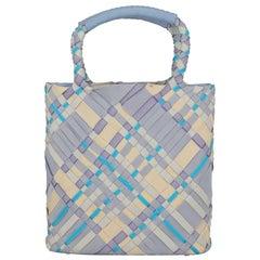 Salvatore Ferragamo  Women   Handbags  Blue, Ecru, Purple Synthetic Fibers