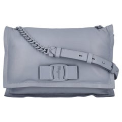 Salvatore Ferragamo Women Shoulder bags Navy Leather