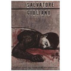 Salvatore Giuliano 1963 Czech A3 Film Poster