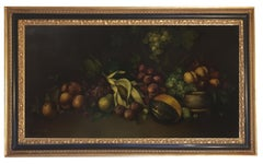 STILL LIFE - Dutch School - Oil on Canvas Italian Painting