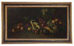 Still Life - Italian Oil on Canvas Painting by Salvatore Marinelli