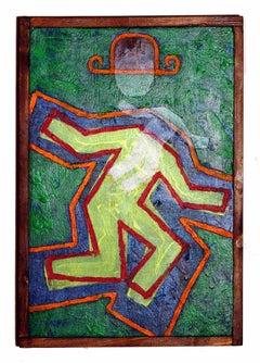 Instability 4 - Original Oil Painting by Salvatore Travascio - 2003