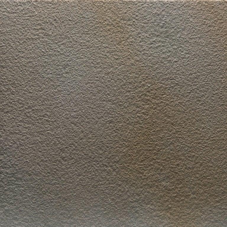 Italian Salvatori Filo Flush 3 / 100 Shower Tray in Sandblasted Piombo Stone For Sale