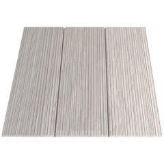 Salvatori Filo Flush 3  100 Shower Tray in Raw Texture Silk Georgette Stone