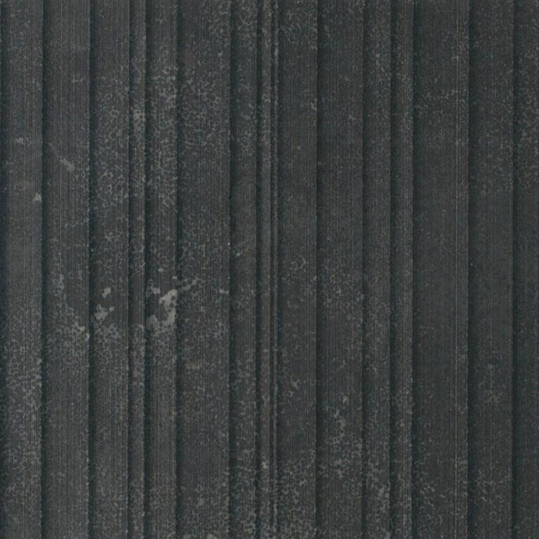 Italian Salvatori Filo Flush 4 / 100 Shower Tray in Raw Texture Pietra d'Avola Stone For Sale