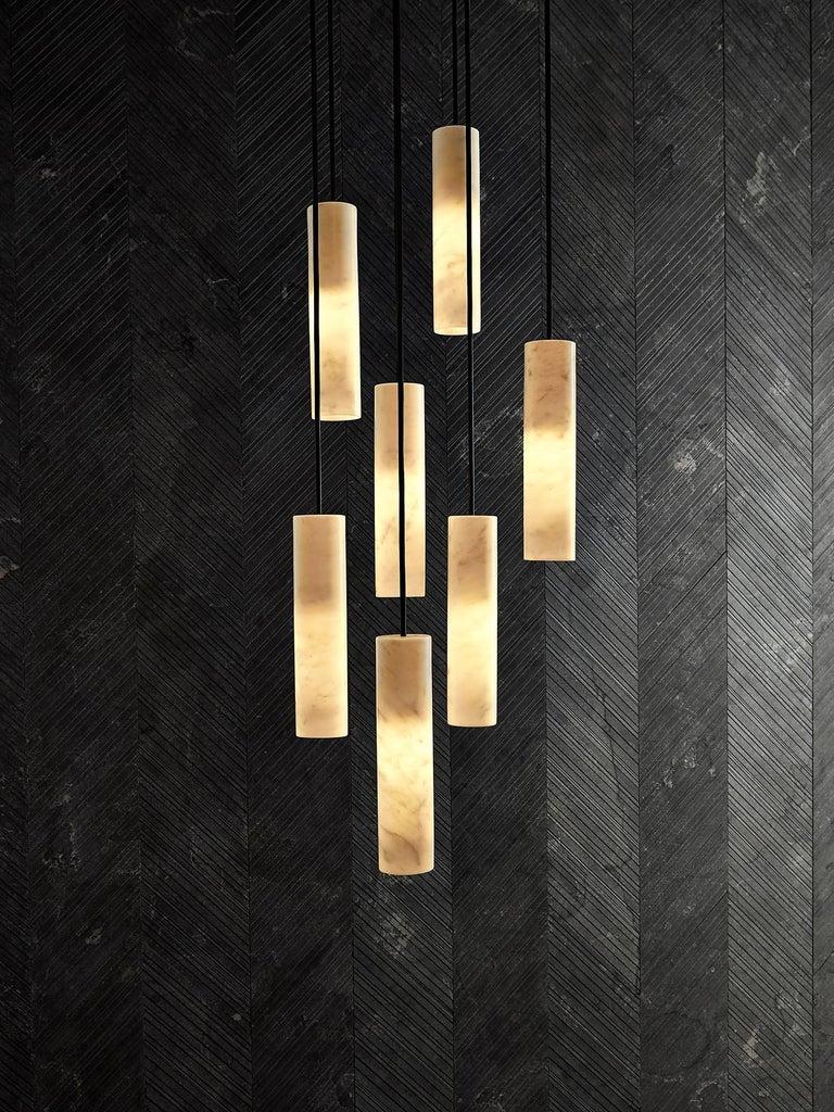 Salvatori Silo Cluster Pendant Light by David Lopez Quincoces In New Condition For Sale In Querceta, IT